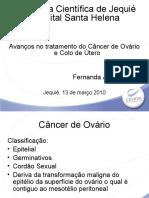 VII - Câncer de Ovário // Dra. Fernanda Ásfora