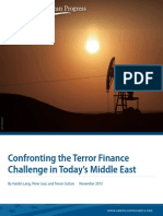 Confronting the Terror Finance Challenge in Today's Middle East