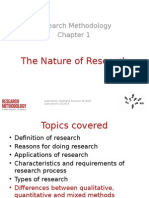 Ch01 the Nature of Research