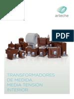 transformadores de intensidad del tipo torioide