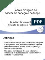 IX- Câncer de Cabeça e pescoço // Dr. Adrian Berenguer