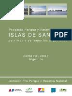 Proyecto Parque y Reserva Natural Islas de Santa Fe