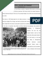 activereadingmodel the civil rights movement
