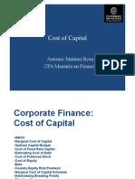 3. Curso Valorización de Empresas - Cost of Capital