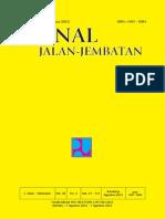 Jurnal Jalan-Jembatan Vol 30 No 2 Agustus 2013
