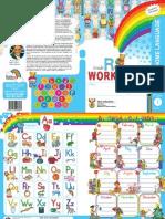 kindergarten english workbook