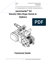 Spacemaster Sx Electric Wire Rope Hoist Technical Guide