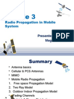 Module 3 Radio mobile propagation system