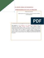 Guía de Apoyo Para Análisis Morfo sintáctico (1)