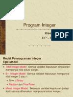 Pertemuan Ke 19 Program Integer