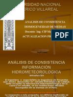 análisis de Consistenciamedias