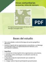 Dinámicas Comunitarias CEAP- Silvio Prado