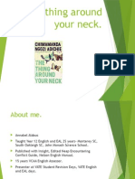 The Thing Around Your Neck study notes
