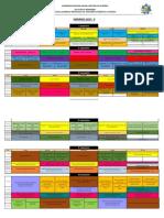 Horario 2015 II Ingenieria Informaticas Sistemas