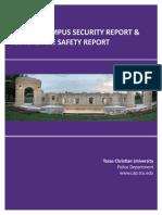 TCU Annual Security Report 2015