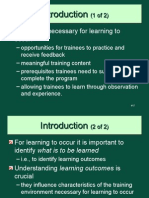Learning Theories-T&D