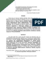 Comparação de Espécies Nativas, Em Plantio Em Linhas
