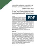 A Conjuntura Da Advocacia Corporativa e a Proposicao de Um Departamento Juridico Estrategico Fundamentado Nas Perspectivas Legal Gerencial e Economica (1)