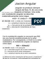 Modulacion Angular