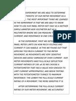 Conclusion DC Multimeter