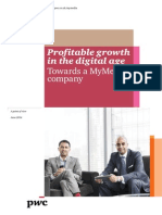 Profitable Growth in the Digital Age