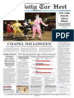 Daily Tar Heel for Nov. 2, 2015