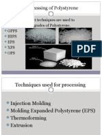 Processing of Polystyrene