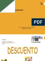MATEMÁTICA FINANCIERA. Descuento.pdf