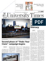 The University Times - March 23, 2010