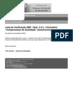 2010-InFOR-19.10 - LV 2BR - Item 3.3.2 - FormuláRio Compromisso de Qualidade