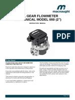 Mechanical Instruction Manual