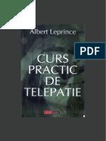 Curs Practic de Telepatie-Albert Leprince