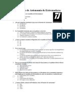 El Estatuto de Autonomía de Extremadura