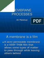 4. Membrane Processes