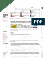 [Studyplan] Best Strategy, Studyplan, Tips & Books for Public Administration Optional UPSC by Topper Prem Ranjan Singh (Rank 62, UPSC CSE 2013)