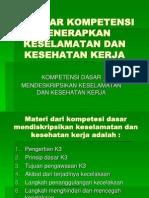 Kompetensi Dasar Mendeskripsikan K3