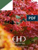 EHD magazine NÚMERO 13 - NOVIEMBRE Y DICIEMBRE 2015
