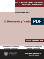 Mecanizacion y Tecnologia Agraria