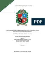Capacidad Portante, Comportamiento Del Suelo a Ciclos de Carga-Descarga, Cálculo de Asentamientos.
