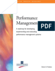 Implementing and Evaluating Performance Management Systems