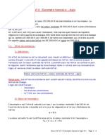 Cours CH VIII Escompte Bancaire Agio NII