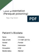 Organo & Paraquat Poisoning