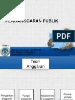 penganggaran publik