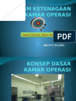 Sistem Ketenagaan Kamar Operasi