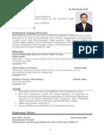 Dr Ghosh CV May 2015