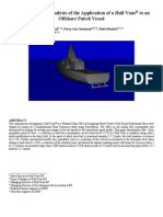 Bouckaert, Et Al, A Life Cycle Cost Analysis of the Application of a Hull Vane to an Offshore Patrol Vessel (FAST2105)