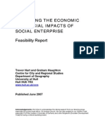 assessing the economic and social impacts of social enterprise