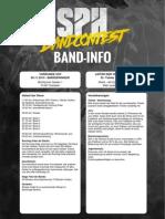 918 Band Infosheet
