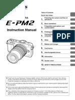 Olympus E PM2 E-Manual