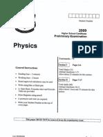 2009 Independent Prelim Paper
